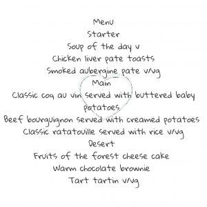 val menu